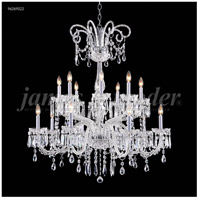 James R. Moder 96269S22 Venetian Collection 16 Light 39 inch Silver Chandelier Ceiling Light