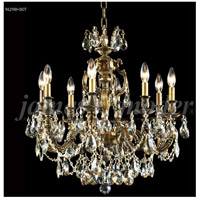 James R. Moder 96298HB0T Nova Paris 8 Light 25 inch Honey Bronze Chandelier Ceiling Light