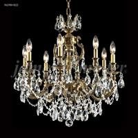 James R. Moder 96298HB22 Nova Paris 8 Light 25 inch Honey Bronze Chandelier Ceiling Light