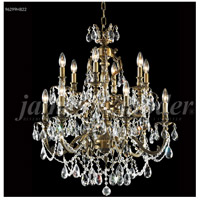 James R. Moder 96299HB22 Nova Paris Collection 12 Light 28 inch Honey Bronze Chandelier Ceiling Light