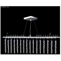 James R. Moder 96308S11LED Fashionable Broadway Collection LED 48 inch Silver Broadway Bar Ceiling Light