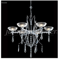 James R. Moder 96316S00 Medallion Collection 6 Light 26 inch Silver Chandelier Ceiling Light