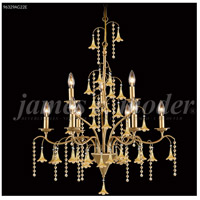 Murano 9 Light 28 inch Aged Gold Chandelier Ceiling Light