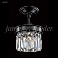 James R. Moder 96331S22 Europa Collection 1 Light 7 inch Silver Pendant Ceiling Light