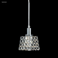 James R. Moder 96551S22 Butterfly 1 Light 4 inch Silver Crystal Chandelier Ceiling Light