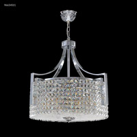 James R. Moder 96634S11 Contemporary Collection 12 Light 25 inch Silver Chandelier Ceiling Light