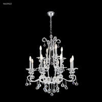 James R. Moder 96659S22 Pearl 12 Light 32 inch Silver Crystal Chandelier Ceiling Light