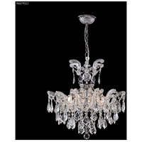 James R. Moder 96679S11 Maria Theresa Grand Collection 6 Light 21 inch Silver Semi Flush Crystal Chandelier Ceiling Light