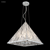 Silver Pyramid Collection Chandeliers