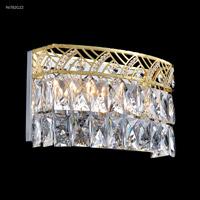 James R. Moder 96782G22 Zoe 3 Light 11 inch Gold Crystal Chandelier Ceiling Light