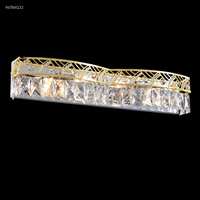 James R. Moder 96784G22 Vanity Light Collection 4 Light 22 inch Gold Vanity Light Wall Light