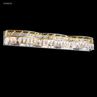 James R. Moder 96788G22 Vanity Light Collection 8 Light 33 inch Gold Vanity Light Wall Light