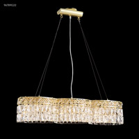 James R. Moder 96789G22 Bar Light Collection 120V 33 inch Gold Bar Light