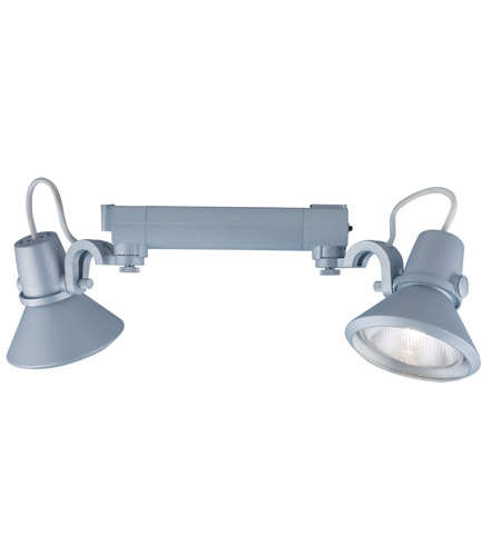 Jesco Silver Aluminum Construction Track Lighting
