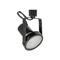 Jesco H2HV230BK H-Type 1 Light 120V Black Track Head Ceiling Light Gimbal
