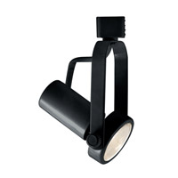 Classic 1 Light 120V Black Track Lighting Ceiling Light