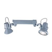 Jesco HHV904P20-S Signature 2 Light 120V White Track Lighting Ceiling Light