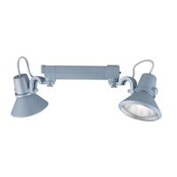 Jesco HHV904P30-S Signature 2 Light 120V Silver Track Lighting Ceiling Light