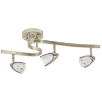 Jesco KDC138FR Mul-T-Lite 3 Light Satin Chrome Waverail Kit Ceiling Light