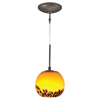 Envisage VI 1 Light 5 inch Bronze Mini Pendant Ceiling Light
