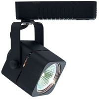 Jesco H2LV102BK Deco Series 1 Light 120V Black Mini Track Head Ceiling Light H-Type