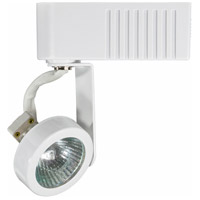 Jesco H2LV132WT Deco Series 1 Light 120V White Mini Track Head Ceiling Light H-Type