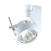 Contempo 1 Light 120V Silver Track Lighting Ceiling Light