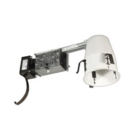 Jesco LV4000RA Signature MR16 Silver Recessed Lighting Housing
