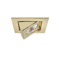 Signature 12V Halogen Polished Brass Undercabinet Recessed Lighting