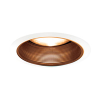 Signature Antique Bronze & White Recessed Lighting Trim in Antique Bronze/White