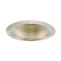 Jesco TM609ST Signature Satin Chrome Recessed Lighting Trim