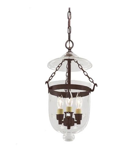 1009 08 bell jar 3 light 9 inch oil rubbed bronze hanging bell pendant. Black Bedroom Furniture Sets. Home Design Ideas