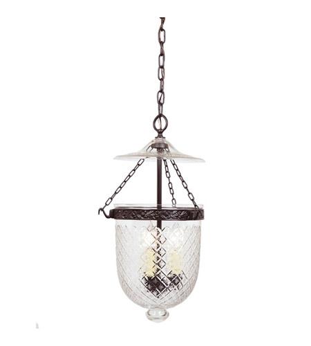 jvi designs bell jar 3 light medium hanging bell pendant in oil rubbed. Black Bedroom Furniture Sets. Home Design Ideas