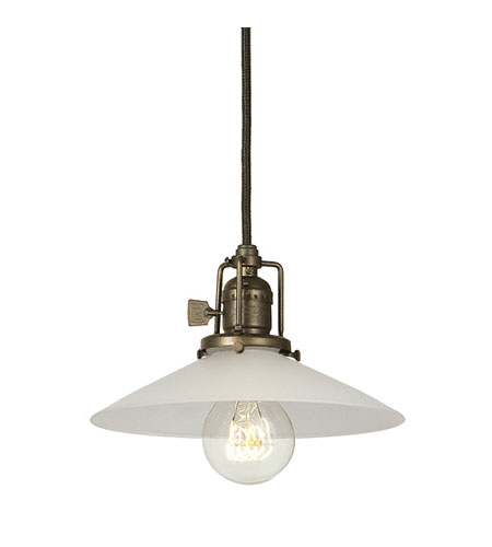 JVI Designs Union Square 1 Light Mini Pendant in Weathered Bronze 1200-02-S1-F photo
