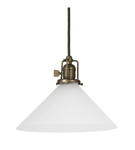 JVI Designs Union Square 1 Light Mini Pendant in Weathered Bronze 1200-02-S2-F photo