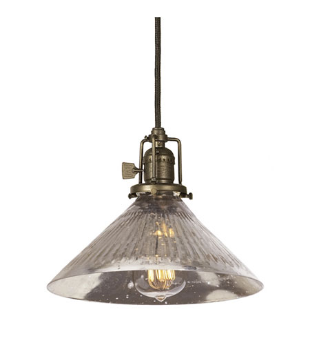 JVI Designs Union Square 1 Light Mini Pendant in Weathered Bronze 1200-02-S2 photo