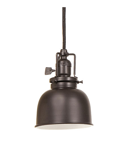 JVI Designs Union Square 1 Light Mini Pendant in Oil Rubbed Bronze 1200-08-M2 photo