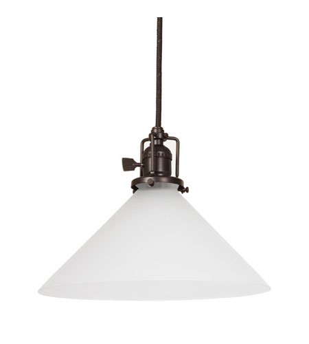 JVI Designs Union Square 1 Light Mini Pendant in Oil Rubbed Bronze 1200-08-S2-F photo
