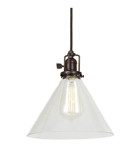 JVI Designs Union Square 1 Light Mini Pendant in Oil Rubbed Bronze 1201-08-S3 photo
