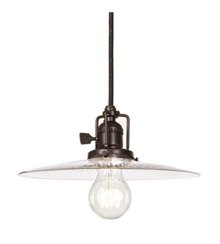 JVI Designs Union Square 1 Light Mini Pendant in Oil Rubbed Bronze 1200-08-S6 photo