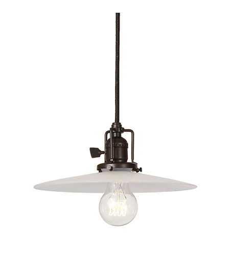 JVI Designs Union Square 1 Light Mini Pendant in Oil Rubbed Bronze 1200-08-S6-F photo