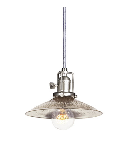JVI Designs 1200-17-S1-SR Union Square 1 Light 8 inch Pewter Pendant Ceiling Light photo