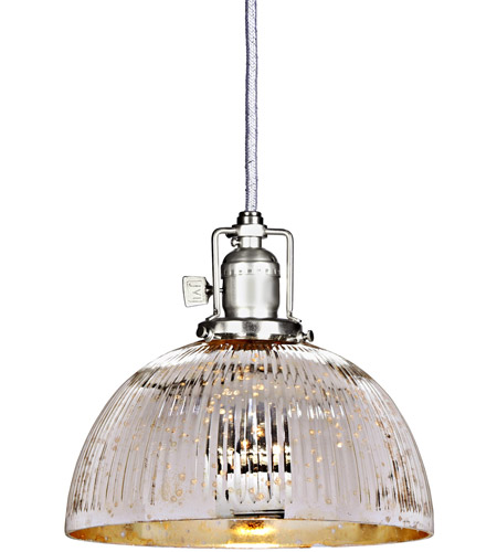 JVI Designs 1200-17-S12-SR Union Square 1 Light 8 inch Pewter Pendant Ceiling Light photo
