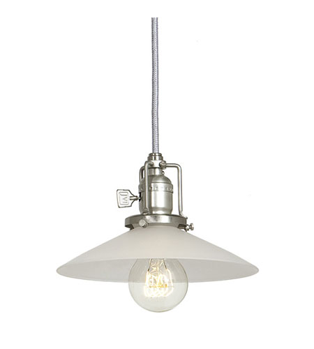 JVI Designs Union Square 1 Light Mini Pendant in Pewter 1200-17-S1-F photo