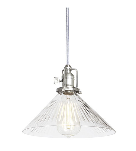 JVI Designs 1200-17-S2-CR Union Square 1 Light 10 inch Pewter Pendant Ceiling Light photo