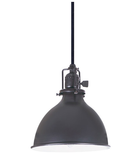 JVI Designs 1200-18-M4 Union Square 1 Light 7 inch Gun Metal Pendant Ceiling Light photo