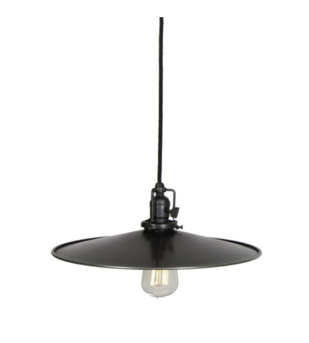 JVI Designs 1200-18-M5 Union Square 1 Light 14 inch Gun Metal Pendant Ceiling Light photo