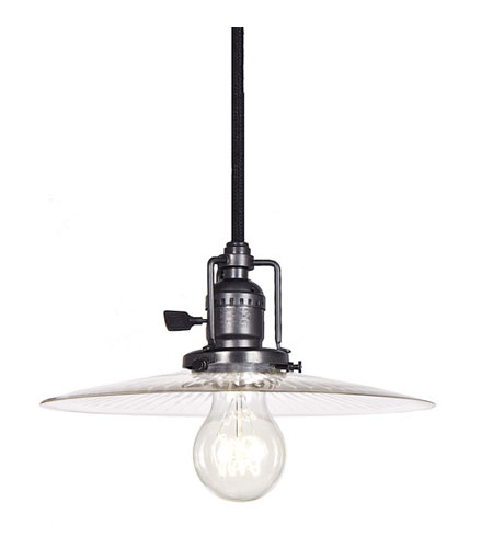 JVI Designs Union Square 1 Light Mini Pendant in Gun Metal 1200-18-S6-CR photo