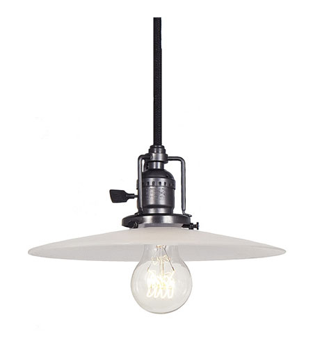 JVI Designs Union Square 1 Light Mini Pendant in Gun Metal 1201-18-S6-F photo