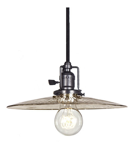 JVI Designs Union Square 1 Light Mini Pendant in Gun Metal 1200-18-S6-SR photo